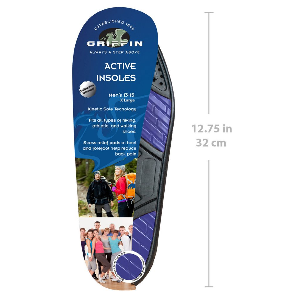Active Insoles (Extra Large)