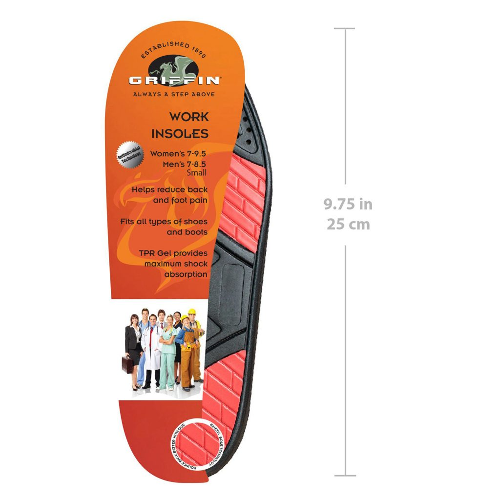 Work Insoles (Small)