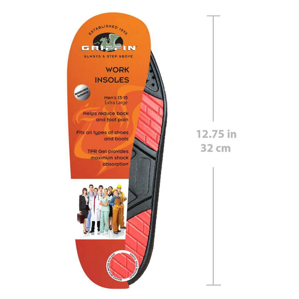 Work Insoles (Extra Large)